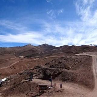 Valle Nevado – sem neve
