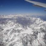 Andes – sobrevoando a cordilheira