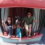 Sobre viajar em família