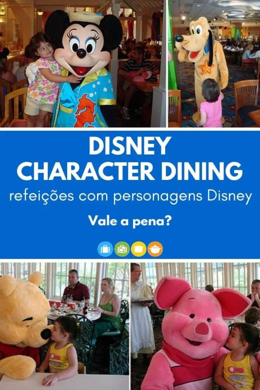 Character Dining: refeições com personagens Disney   Malas e Panelas