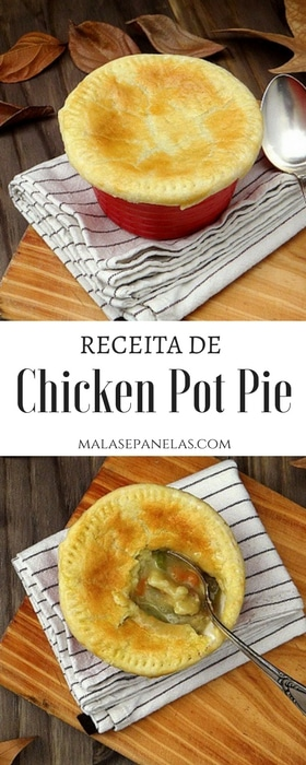 Receita de Chicken Pot Pie | Malas e Panelas