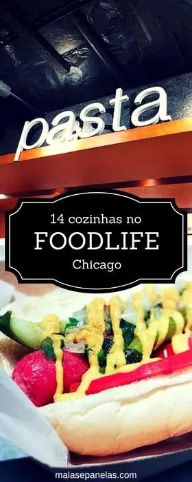 14 cozinhas no Foodlife em Chicago