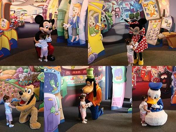 Personagens Disney EPCOT