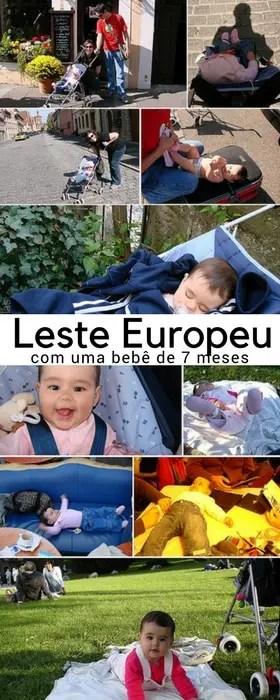 Viagem ao Leste Europeu com bebê