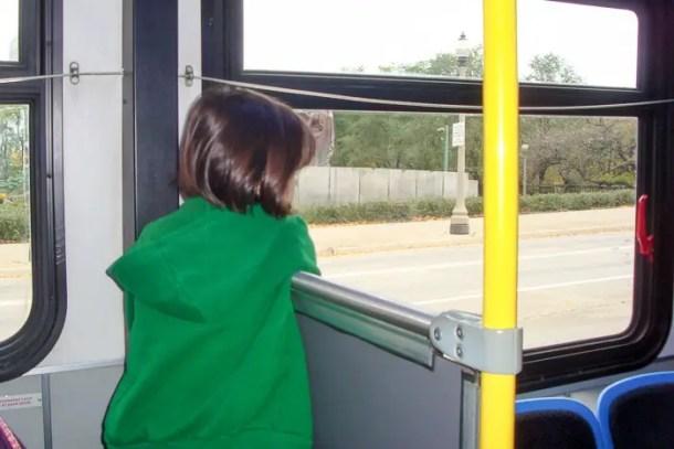 Ônibus em Chicago