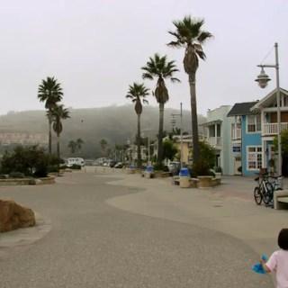 Avila Beach, pausa para almoço entre SF e LA