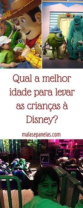 Qual a melhor idade para levar as crianças à Disney? | Malas e Panelas