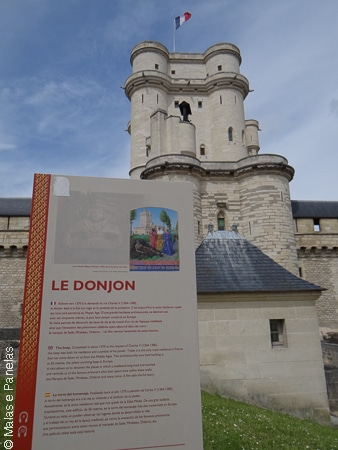 O Torreão - Donjon em Francês