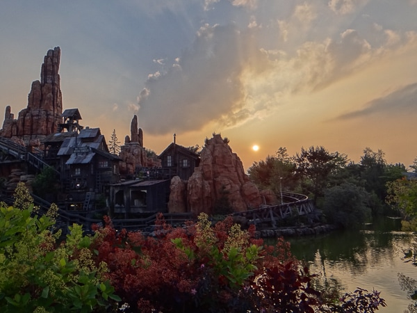Fim de Dia na Disney Paris