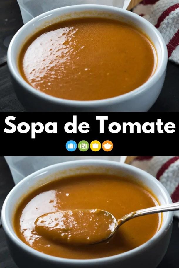Sopa de Tomate | Malas e Panelas