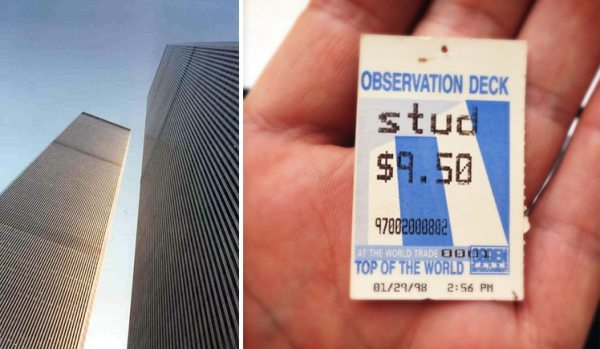 World Trade Center - Top of the World Ticket
