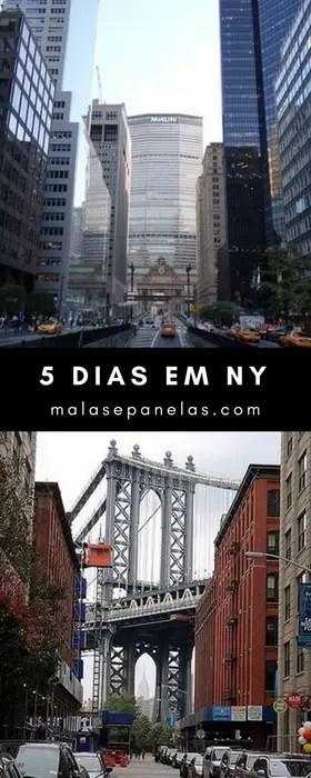 5 dias em Nova York | Malas e Panelas