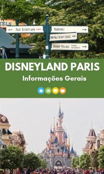 Disneyland Paris: Informações Gerais | Malas e Panelas