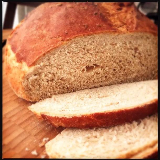 Receita de pão de centeio