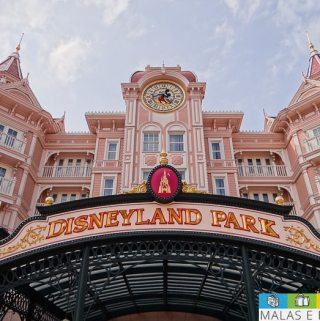 Disneyland Park na Disney Paris