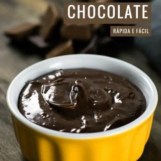 Mousse de Chocolate Rápida e Fácil   Malas e Panelas