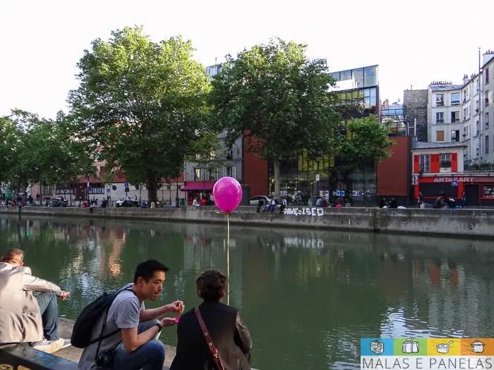 Canal Saint Martin Paris