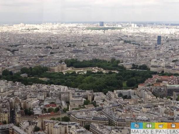 Jardim de Luxemburgo - Tour Montparnasse - Torre Montparnasse