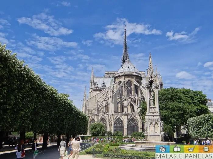 Ile de da cité Ile St Louis Paris Notre Dame
