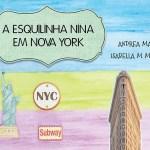 """Promoção do mês das crianças: Desconto nos guias """"A Esquilinha Nina em Nova York"""""""