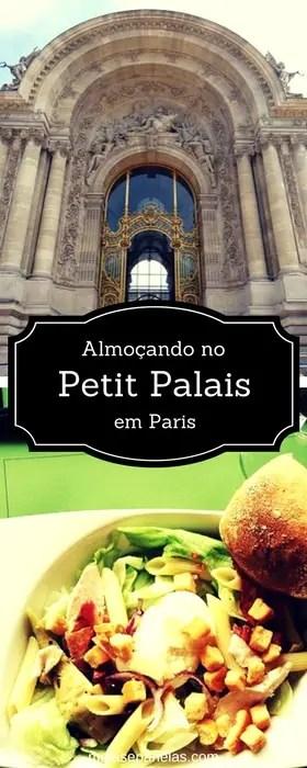Almoço no Petit Palais em Paris