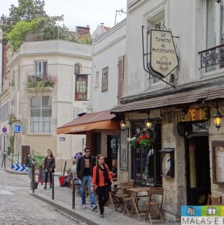 Paris: as ruas estreitas e charmosas de Montmartre