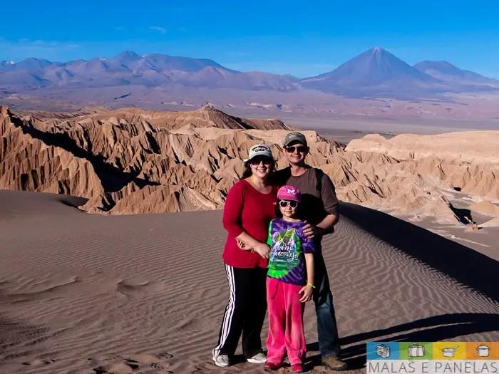 Sobre as dunas do Valle de la Muerte