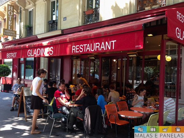 Paris onde comer