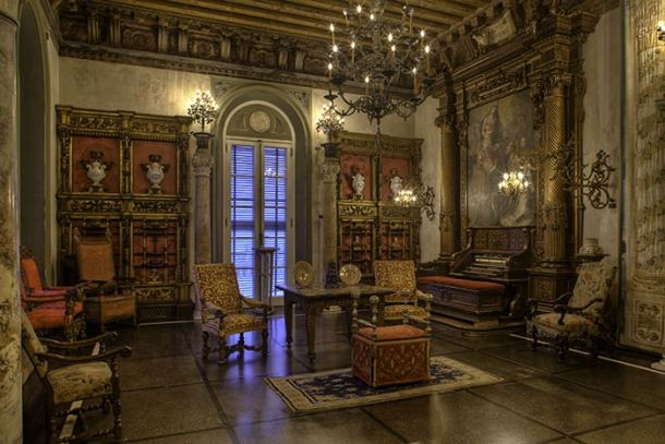 Vizcaya Musem and Gardens Main House interior