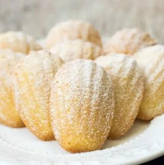 Receita: Madeleines de Limão