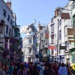 Como são as áreas do Harry Potter na Universal