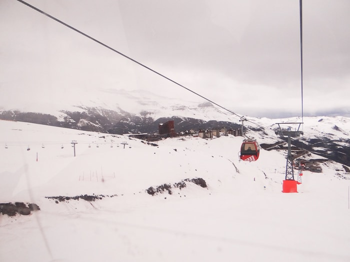 valle nevado teleférico fechado