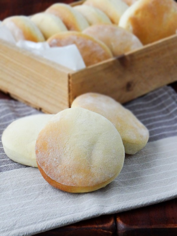 Pão de Hambúrguer feito em casa