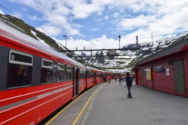 Trem de Bergen a Oslo