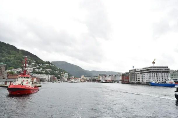 Deixando Bergen para conhecer os fiordes