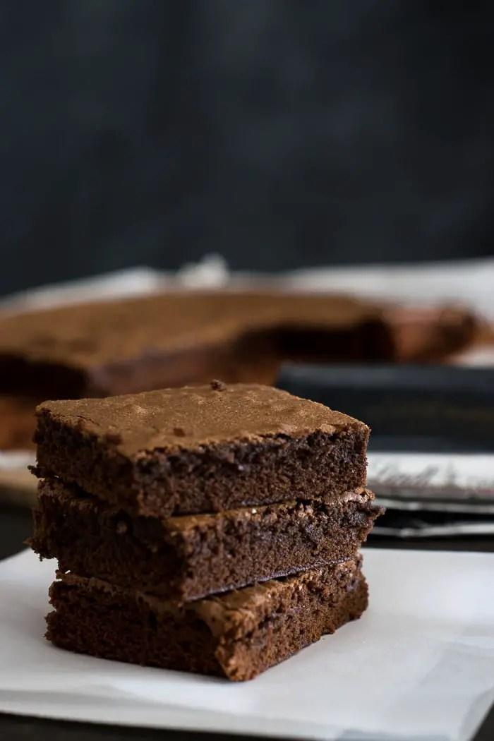 Receita de Brownies da confeitaria Baked, no Brooklyn