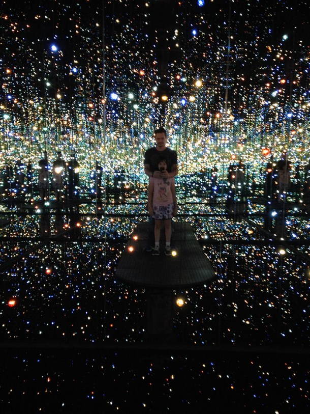 Infinity Mirrored Room – The Soul of Millions of Light Years Away - Yayoi Kusama