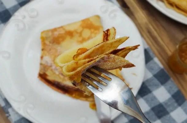 Crêpe Beurre Sucre