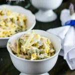 Salada com Batata Palha – rápida e fácil