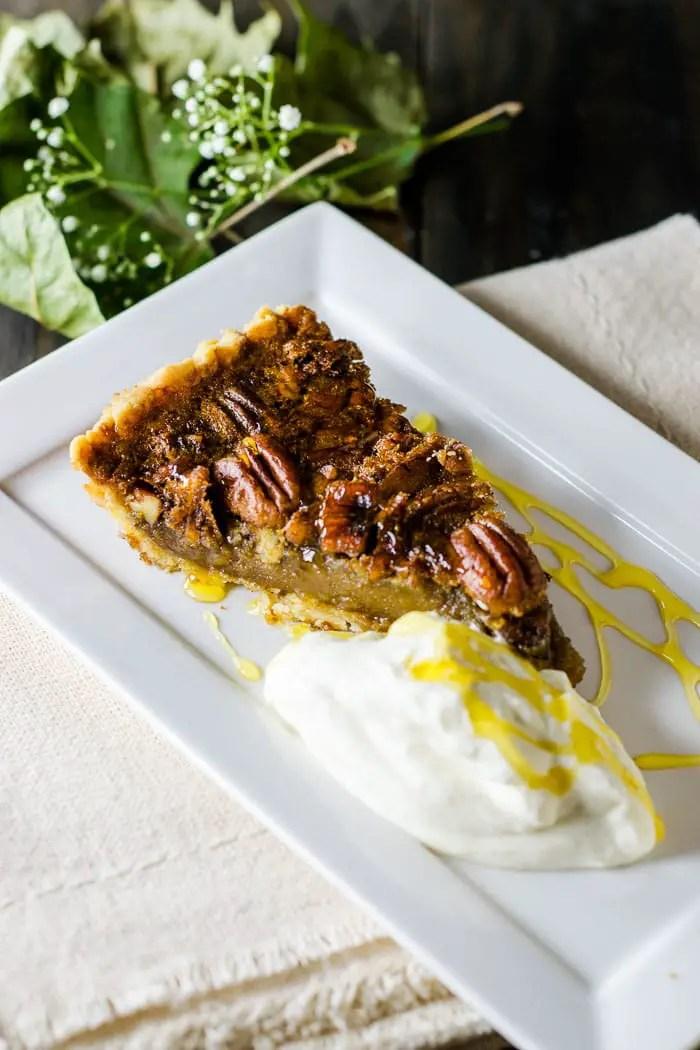 Torta de Noz Pecã {Pecan Pie} | Malas e Panelas