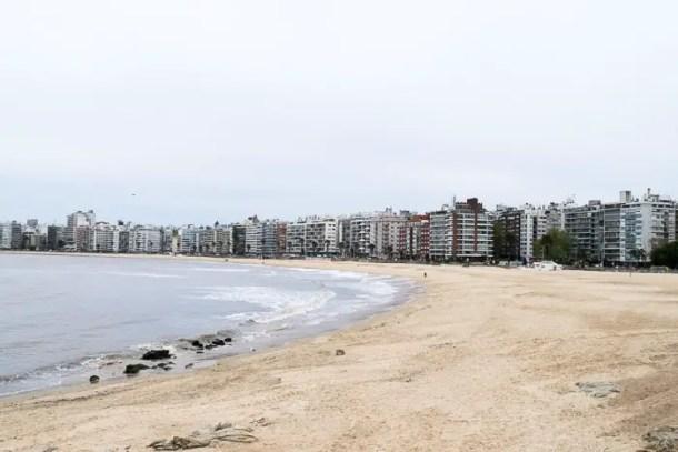 Praia de Pocitos