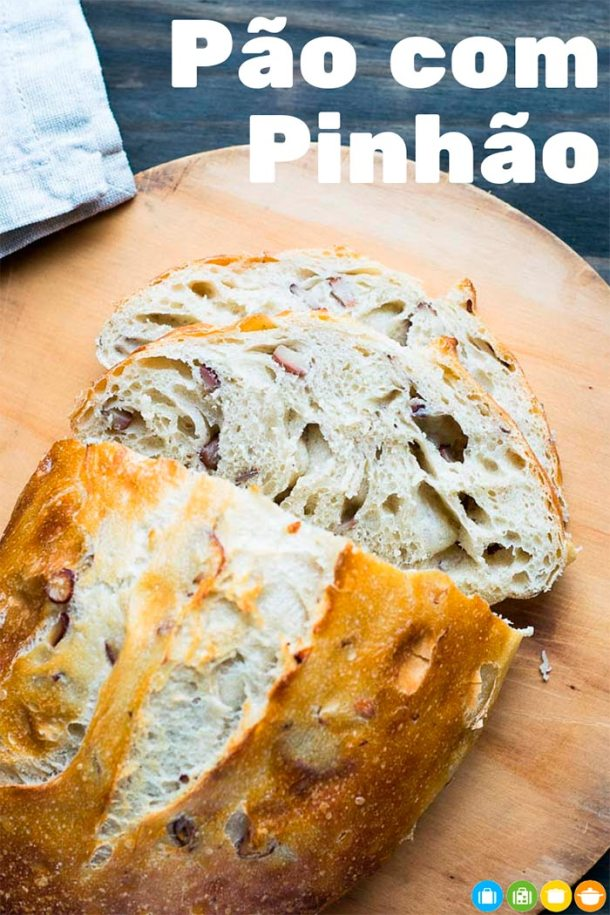 Pão com Pinhão | Receita fácil e Deliciosa | Malas e Panelas
