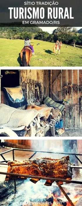 Sítio Tradição - Turismo Rural e passeios a cavalo em Gramado | Malas e Panelas