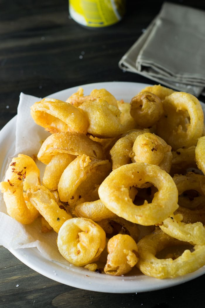Beer-Battered Onion Rings | Travel Cook Tell