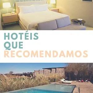 Hotéis que recomendamos
