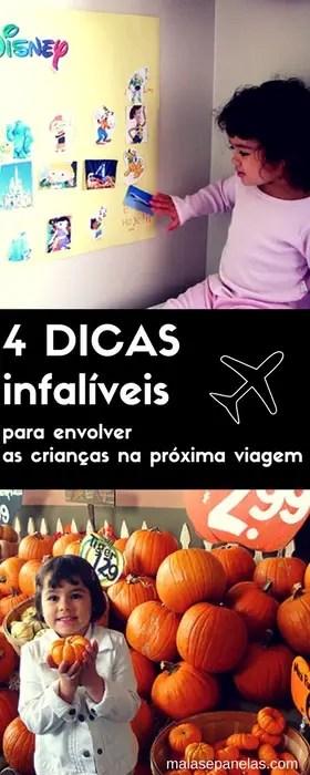 4 dicas infalíveis para envolver as crianças na próxima viagem | Malas e Panelas