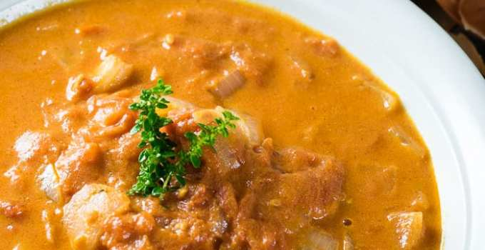 Sopa de Tomate Aveludada