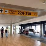 Conexão de voo internacional para doméstico na chegada ao Brasil