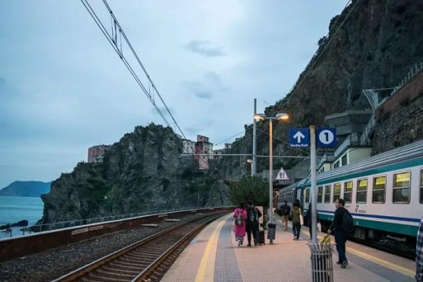 Passe de trem na Itália