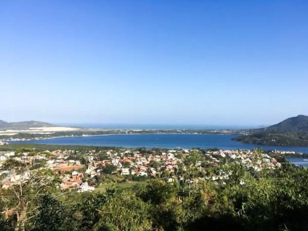 Mirante do mooro da lagoa - Florianópolis